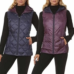 Gerry packable reversible downfilled vest